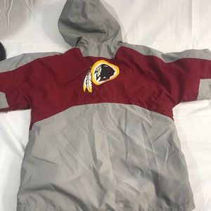 Reebok Washington Redskins jacket 10/12
